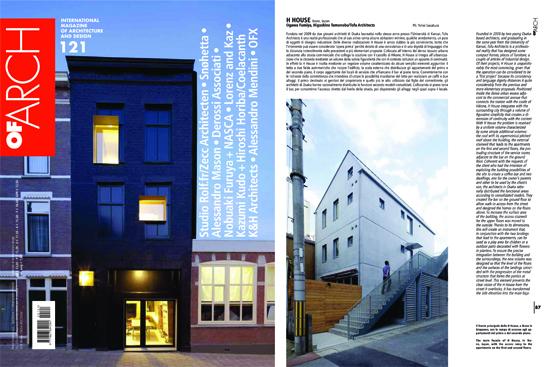 イタリアの建築雑誌「OF ARCH」...